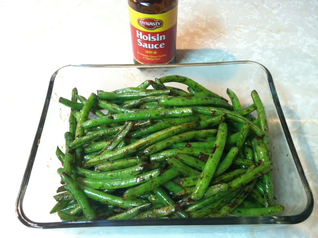 Spicy Asian-Style Green Beans make an excellent side dish whether they are hot from the pan or cold.